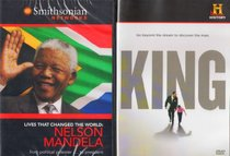 Nelson Mandela Biography : Lives That Changed the World - Smithsonian Networks , the History Channel : King a Biography of Martin Luther King Jr. - Civil Rights Leaders 2 Pack Gift Set
