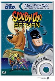 Scooby-Doo Meets Batman (Mini-DVD)
