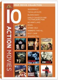 Action 10-Pack (Juggernaut / Killer Elite / Blown Away / Harley Davidson and the Marlboro Man / No Man's Land / Ronin / Stone Cold / Winners Take All / Boot Camp / Walking Tall)