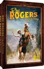 Roy Rogers - King of the Cowboys - Embossed Slim-Tin Packaging