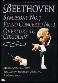 Beethoven - Symphony No. 7, Piano Concerto No. 1, Overture to Coriolan / Solti, Perahia, London Symphony Orchestra