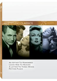 Studio Classics, Set 2 (An Affair to Remember / Leave Her to Heaven / A Letter to Three Wives / Peyton Place)