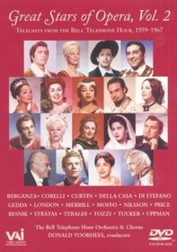 Great Stars of Opera, Vol. 2 - Telecasts from the Bell Telephone Hour 1959-1967