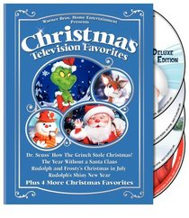 Rudolph And Frostys Christmas In July Dvd.Christmas Television Favorites Dr Seuss How The Grinch Stole
