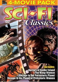 Sci-Fi Classics 4-Movie Pack (Horrors of Spider Island; The Wasp Woman; Voyage to the Prehistoric Planet; Voyage to the Planet of Prehistoric Women)