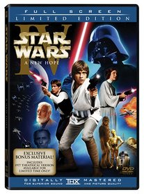 Star Wars Episode IV - A New Hope (2-discs with Full Screen enhanced and original theatrical versions)