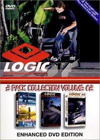 Logic Skateboard Media 3-Pack Collection, Vol. 2 (#7-9)
