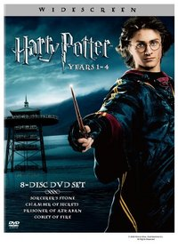 Harry Potter Years 1-4 (Harry Potter and the Sorcerer's Stone / Chamber of Secrets / Prisoner of Azkaban / Goblet of Fire) (Widescreen Edition)