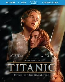 Titanic (Blu-ray / DVD / Digital Copy + UltraViolet Digital Copy)