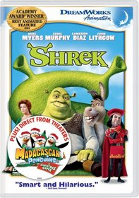 Shrek/ The Madagascar Penguins in A Christmas Caper