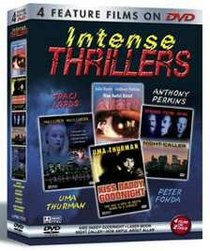 Intense Thrillers (4 pack) - Laser Moon/Night Caller/Kiss Daddy Goodnight/How Awful About Allan