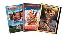 Slapstick Comedy 3-Pack (Caddyshack / Blazing Saddles / National Lampoon's Vacation)
