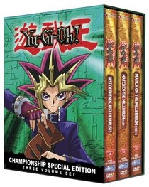 Yu-Gi-Oh!: Championship Collection Three Volume Set