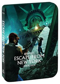 Escape From New York [Limited Edition Steelbook] [Blu-ray]