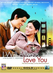 I Will Always Love You - Philippines Filipino Tagalog DVD Movie