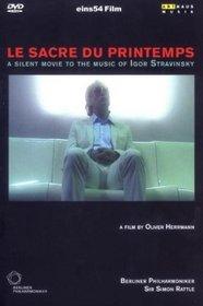 Stravinsky - Le Sacre du Printemps / Oliver Hermann film, Simon Rattle, Berlin Philharmonic