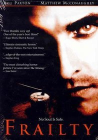 Frailty [DVD] (2003) Bill Paxton; Matthew McConaughey