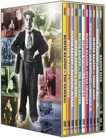 The Art of Buster Keaton (The General / Sherlock, Jr. / Our Hospitality / The Navigator / Steamboat Bill Jr. / College / Three Ages / Battling Butler / Go West / The Saphead / Seven Chances / 21 Short Films)