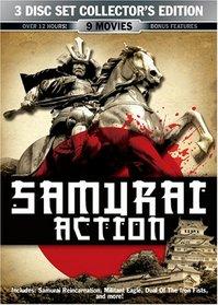 Samurai Action 3 Disc Collector's Editiom