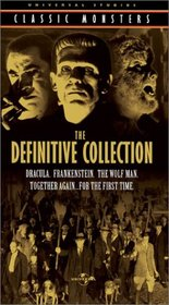 Universal Studios Classic Monsters - The Definitive Collection (Dracula, Frankenstein, The Wolf Man)