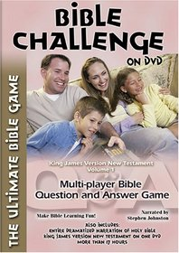 Bible Challenge - King James New, Vol. 1