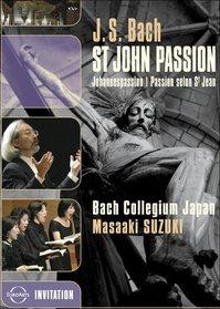 Bach - St. John Passion / Midori Suzuki, Robin Blaze, Gerd Turk, Chiyuki Urano, Stephan MacLeod, Masaaki Suzuki, Bach Collegium Japan, Tokyo