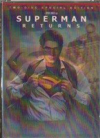 Superman Returns - Widescreen 2 DVD set (W / Exclusive 3D Cover 30 Minute 1940s Radio Episodes)