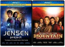 Family Movie Two-Pack: The Jensen Project & Secrets of the Mountain