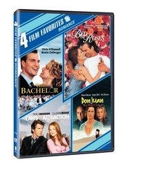 Romance 4 Film Favorites (The Bachelor / Bed of Roses / Laws of Attraction / Don Juan DeMarco)