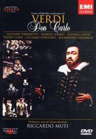 Verdi - Don Carlo / Pavarotti, Dessi, Ramey, d'Intino, Coni, Muti, La Scala Opera