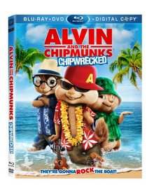 Alvin and the Chipmunks: Chipwrecked (Blu-ray/ DVD + Digital Copy)