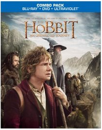 The Hobbit: An Unexpected Journey (Blu-ray/DVD+UltraViolet Combo Pack)
