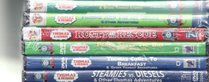 Thomas and Friends 6 Pack DVD Set Percy's Ghostly Trick & Other Thomas Stories / Thomas and the Jet Engine & Other Adventures / Rusty to the Rescue / Percy Saves the Day / Thomas Comes to Breakfast / Steamies vs. Diesels
