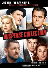 John Wayne's Suspense Collection (Ring of Fear / Track of the Cat / Plunder of the Sun / Man in the Vault)