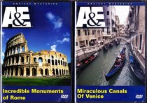 The Incredible Monuments of Rome , Miraculous Canals of Venice : Tour of Italy 2 Pack