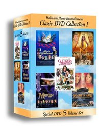 Hallmark TV Classics Collection I (Alice in Wonderland/Cleopatra/Gulliver's Travels/Merlin/Noah's Ark)