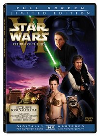 Star Wars Episode VI - Return of the Jedi (2-discs with Full Screen enhanced and original theatrical versions)