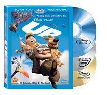 Up (Four-Disc Blu-ray/DVD Combo + BD Live) [Blu-ray]