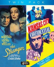 Kansas City Confidential/The Stranger [Blu-ray]