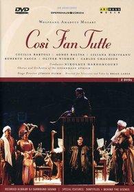 Mozart - Cosi Fan Tutte / Harnoncourt, Bartoli, Nikiteanu, Zurich Opera