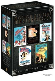 Motion Picture Masterpieces Collection (David Copperfield 1935 / Marie Antoinette 1938 / Pride and Prejudice 1940 / A Tale of Two Cities 1935 / Treasure Island 1934)