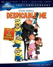 Despicable Me [Blu-ray + DVD + Digital Copy] (Universal's 100th Anniversary)