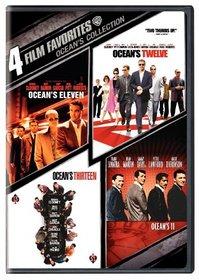 Ocean's Collection: 4 Film Favorites (Ocean's Eleven 2001 / Ocean's Twelve / Ocean's Thirteen / Ocean's Eleven 1960)
