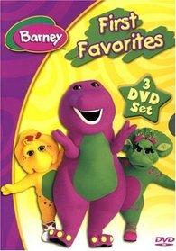 Barney - First Favorites (Musical Scrapbook / Numbers! Numbers! / Dino Dancin' Tunes)