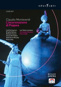 Monteverdi - L'incoronazione di Poppea / Haymon · Balleys · Liang · Chance · van der Kamp · Grant Murphy · Fouchécourt · Visse · McFadden · Vink · Piau · Berg · Les Talens Lyriques · Rousset · Audi  (Amsterdam Opera 1994)