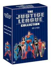 The Justice League Collection (DVD 3-Pack) (Secret Origins/Justice on Trial/Paradise Lost)