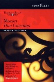 Mozart - Don Giovanni /  Allen, Gruberova, Murray, Araiza, Desderi, Mentzer, Muti, La Scala Opera
