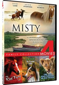 4-Movie Family: Misty/The Red Fury/Lassie: The Painted Hills/The Lion Who Thought He Was People