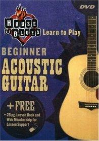 House of Blues Beginner, Acoustic Guitar