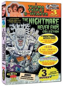 The Nightmare Never Ends: A Troma Triple B-Header, Vol. 4